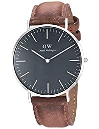 Daniel Wellington Unisex Adult DW00100132  Classic Black Durham 40mm Watch