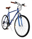 "Vilano C1 Comfort Road Bike Shimano 21 Speeds 26"" Wheels, Size 18"", Blue"