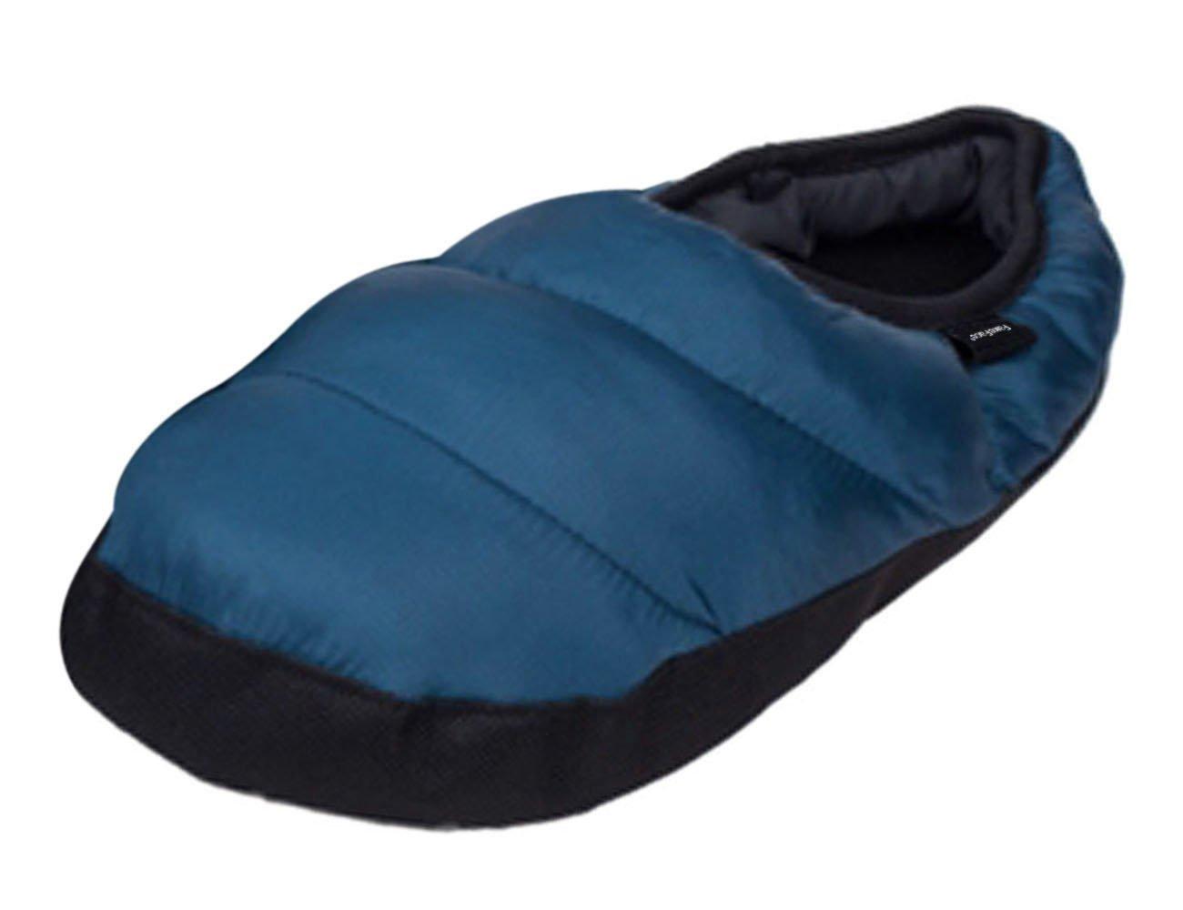 81fea0cec85c8 Homme  femme Pantoufles Dintérieur Pantoufle Chaleureux Chausson Hiver  Imperméable Antidérapante Chaussures Doux en Peluche