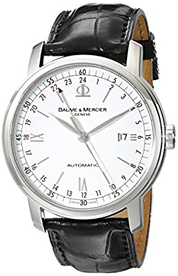 Baume & Mercier Men's MOA08462 Classima Executive Analog Display Swiss Automatic Black Watch