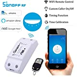 Vibola 4 Pack Mini Switch Remote Control WiFi Wireless Smart Switch Module Home For iOS Android (White)