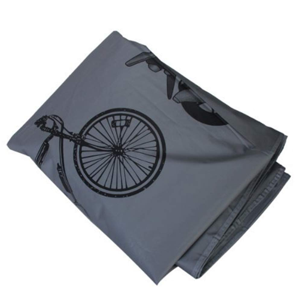 Aoile Universal Bicycle Motorcycle Car Cover Rain-Proof Dust-Proof Cover Protective Shell