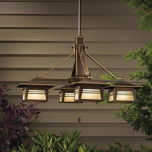 Kichler Zen Garden Post Light in Florida - 3