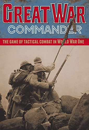 Hexasim Games HEX: Great War Commander, the Game of Tactical Combat in World War One, Boardgame [French-produced, English & French language] (Board Combat Game Commander)