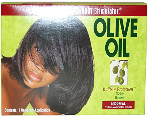 Organic Root Stimulator Olive Oil No-Lye Relaxer - Normal Hair by ORS Black Olive Oil