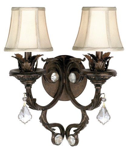 Kathy Ireland Ramas de Luces Double Wall Sconce by Kathy Ireland