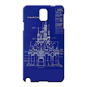 samsung note 3 Collectibles Shockproof Hot Fashion Design Cases Covers cell phone covers Cinderella Castle