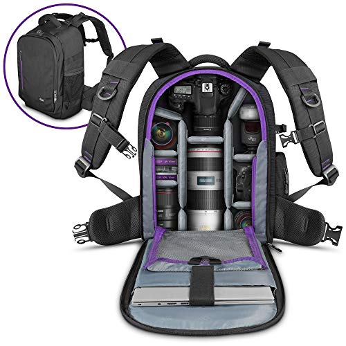 DSLR Camera Backpack Bag by Altura Photo for Camera, Lenses, Laptop/Tablet and Photography Accessories (The Great -