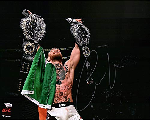 Conor McGregor Ultimate Fighting Championship Autographed 16