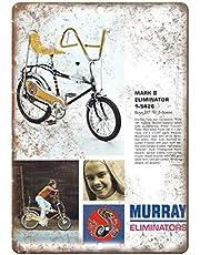 Murray Eliminator Mark II Fiets Lichtgewicht metalen tin plaque stevige en duurzame retro look die nooit vervaagt 20 * 30 cm