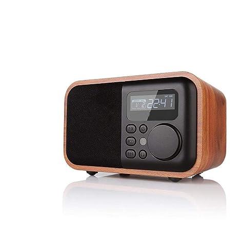 Amazon.com: V.JUST Wooden Digital Alarm Clock Multi ...