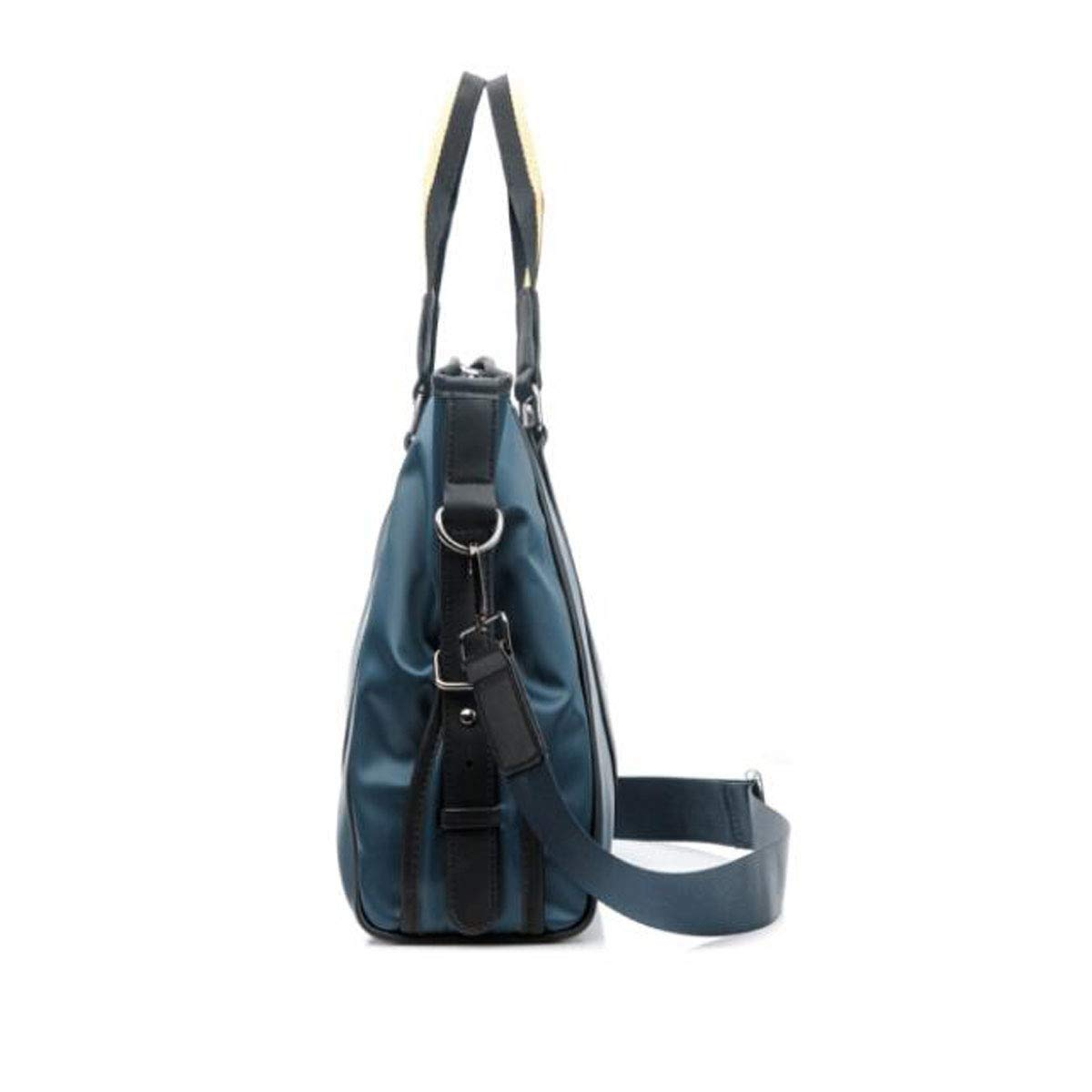 Xingganglengyin Briefcase Size: 37830cm Very Beautiful Color : Black New Portable Mens Business Tote Color : Black Black and Blue