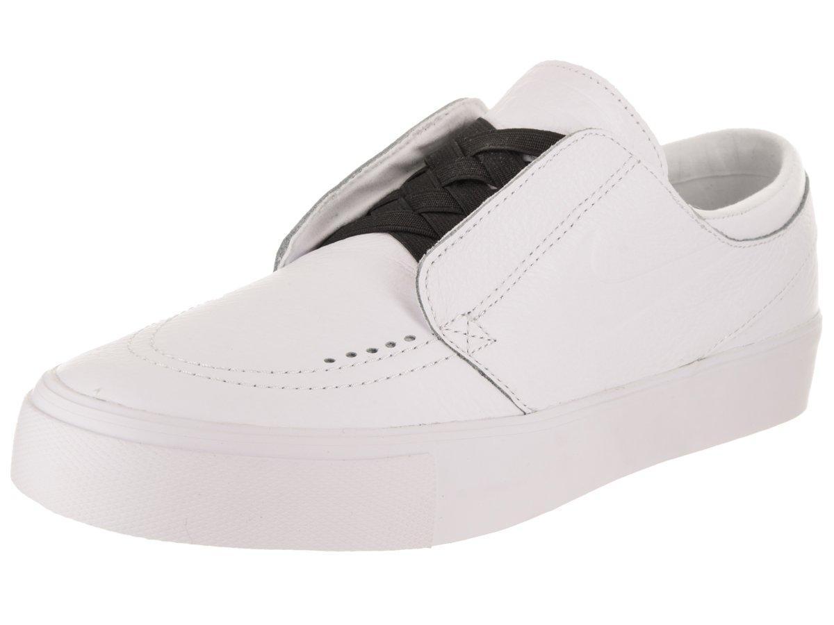 NIKE SB Zoom Janoski HT Slip-on Men Skateboarding Shoes Black/White 10.5 D(M) US|White/White-black