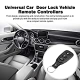 Qulable Universal Car Remote Central Kit Door Lock Vehicle Keyless Entry System