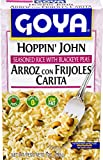 Goya Foods Hoppin' John Seasoned Rice with Blackeye Peas, 7 Ounce (Pack of 12)