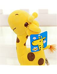 TraveT Baby Cartoon Plush Spot Giraffe Toy