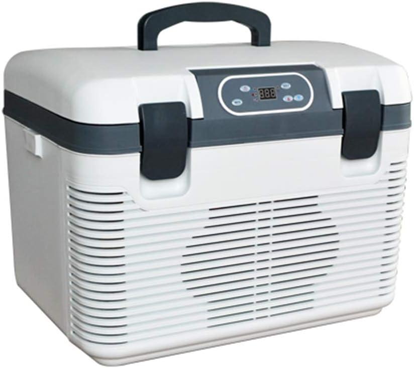 LPC Refrigerador Electrónico De 19 litros con Doble Enfriamiento. Caja De Doble Uso Fría Y Caliente. Mini Pequeño Refrigerador De La Casa. Refrigerado Portátil De Enfriamiento Rápido.