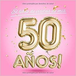 El libro de visitas de mis 50 años: Decoración rosa para el ...