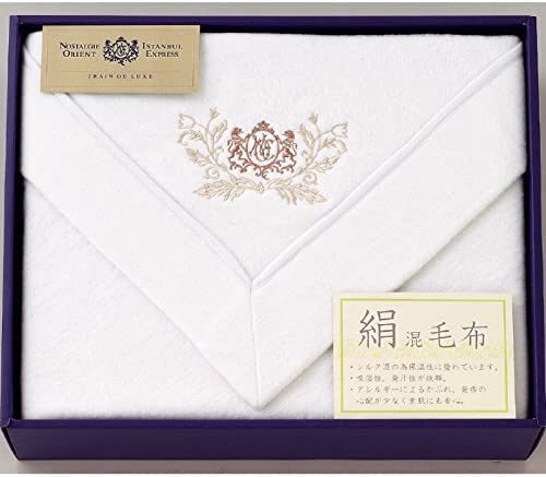 杉本産商 毛布 ホワイト サイズ/約140×200cm