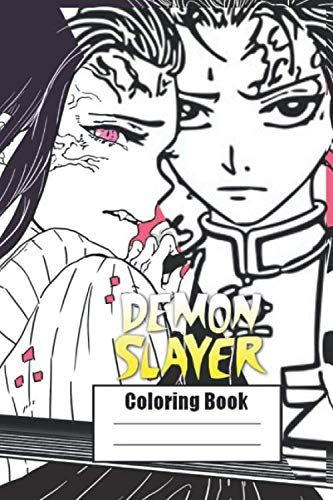 Demon Slayer Coloring Book Japanese Anime Adult Cute Coloring Pages With Cute Characters Fun Japanese Cartoons And Relaxing Kimetsu Yaiba Amazon Co Uk Books Demon Character 9781673501315 Books