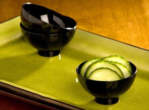 EMI Yoshi Koyal Petite Bowls, Black, Set of 200
