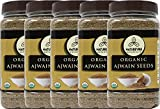 Naturevibe Botanicals Ajwain Seed (5lbs) (5 pack of 1lbs each) | Trachyspermum ammi | Non GMO & Gluten Free | Helps in Digestion | Adds Flavour.