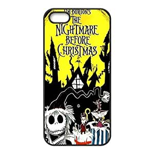 Customiz Cartoon Movie Nightmare Before Christmas Back Case for iphone 5 5S JN5S-2532