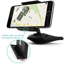 IPOW Easy Installation CD Slot Smartphone Car Mount Holder Cradle for iPhone Samsung Galaxy LG Nexus
