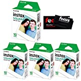Fujifilm Instax Square Film for SQ10 Cameras 4 Pack (40 Sheets)