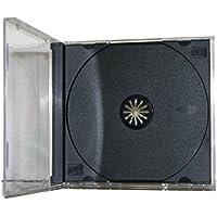 200 STANDARD Black CD Jewel Case (Assembled)