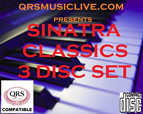 FRANK SINATRA CLASSICS ( 3 DISC SET) - QRS PIANOMATION Compatible Player Piano CD