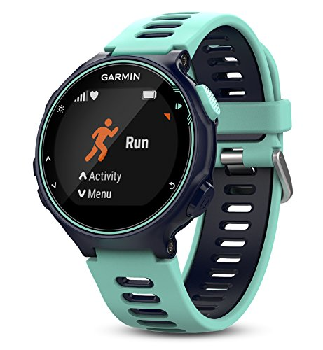 Garmin Forerunner 735XT (Frost Blue, Run-Bundle) Power Bundle | Includes HRM-Run Chest Strap, HD Glass Screen Protectors (x2) & PlayBetter Portable Charger | Multisport GPS Running Watch by PlayBetter (Image #2)