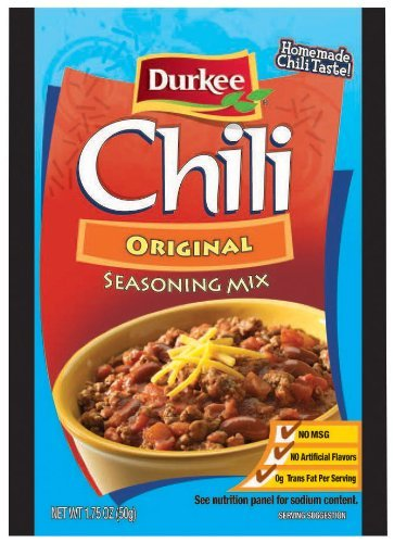 Durkee Original Chili Seasoning Mix 1.75oz Packet (Pack of 9) by Durkee