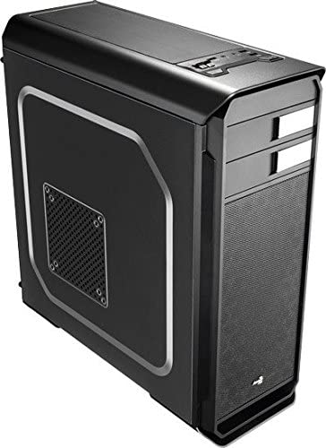 Aerocool Aero-500 Black Edition - Caja de Ordenador (Midi-Tower, PC, 1x 120 mm, Fondo, ATX, Micro-ATX, Mini-ITX, Negro): Amazon.es: Informática