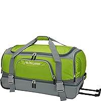 Traveler's Choice 30 in. Drop-Bottom Green Rolling Duffel Deals