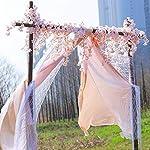 Homcomoda-2-Pack-Artificial-Silk-Cherry-Blossom-Hanging-Vine-Garland-for-Wedding-Home-Garden-Party-Decor-Pink