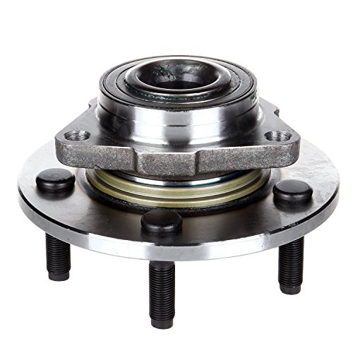 ECCPP Wheel Hub Bearing Assembly New Premium Bearing and Hub Assembly Front 5 Lugs for Dodge 2002-2008 Compatible with ()