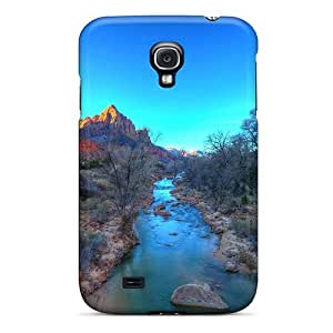 Anti-scratch Case Cover WonderwallOasis Protective Fantastic River In A Canyon Case For Galaxy S4