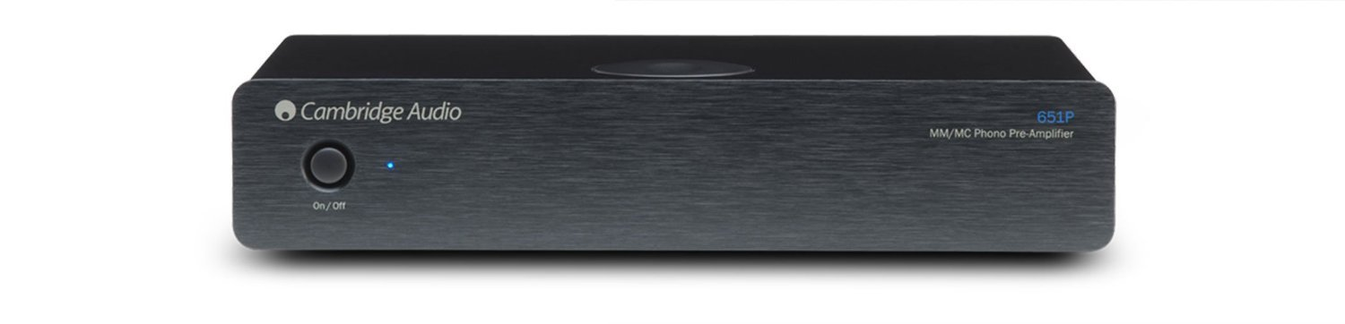 Cambridge Azur 651P MM/MC Phono Preamplifier (Black) by Cambridge
