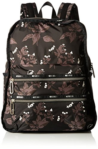 Essential Functional Backpack Botanical Black C, One Size