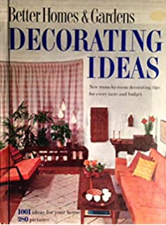 Better Homes And Gardens Decorating Book Editor 9780696000911