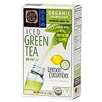 Organic Lemon Cucumber Green Iced Tea Powder