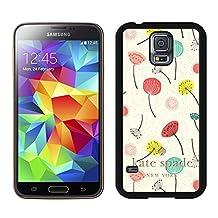 Most Popular Custom Samsung S5 Case Kate Spade New York Hard Plastic Phone Case For Samsung Galaxy S5 I9600 G900a G900v G900p G900t G900w Cover Case 61 Black