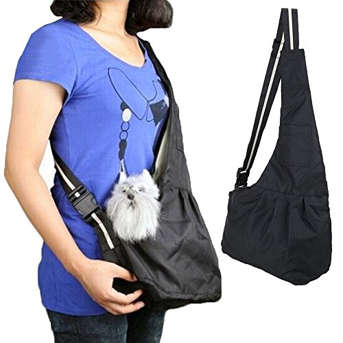 Ogori Puppy Pouch Hands-free Small Dog Cat Sling Carrier Bag Travel Tote Soft Comfortable Puppy Kitty Rabbit Pouch Shoulder Carry Tote Handbag