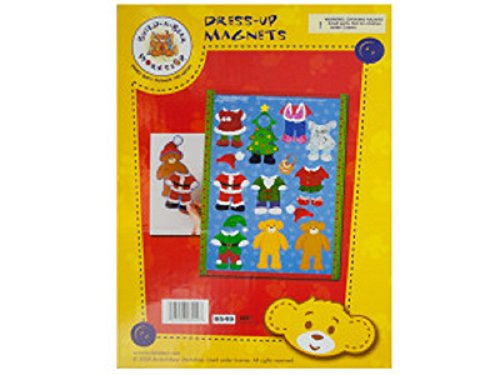 Kole Imports Build-A-Bear Christmas Dress-Up Magnets Multicolored from Kole Imports