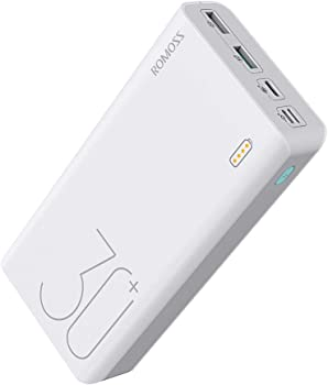 Romoss 30000mAh 18W Fast Charge Type-C PD Portable Power Bank