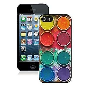 Lmf DIY phone caseBINGO top-sale Watercolor Sets Witeh Brushes 13 iPhone 5 5S Case Black CoverLmf DIY phone case