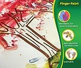 Crayola Washable FingerPaints, 6 Count 8 oz.