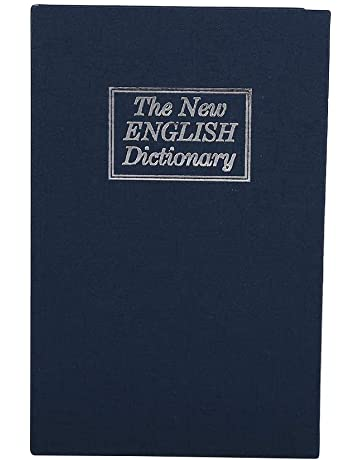 Caja de seguridad, Diccionario oculto Libro de desvío Caso de almacenamiento seguro con cerradura de