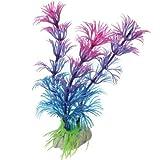 New Artificial Plastic Grass Fish Tank Ornament Water Plant Aquarium Decor Purple Purple